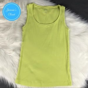 Chico's Tops - Chico's Lime Green True Color Tees Tank Top 0 S
